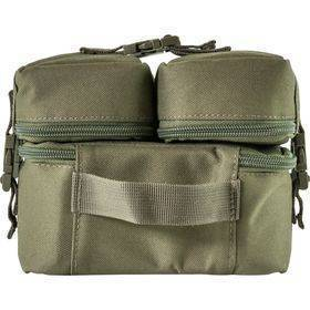 End Tackle Combi Bag Green Back