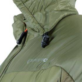 Polaris Jacket  Green Med Side View