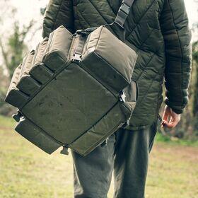 Modular Bait Bag Green Waterproof Base
