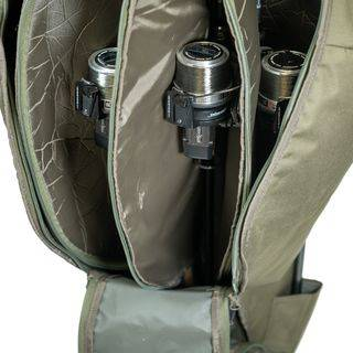 5/6 Rod Holdall Green Detail